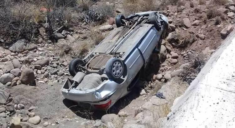 Aparatoso accidente en el tramo Insurgentes-Loreto
