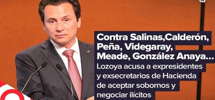 Contra Salinas, Calderón, Peña, Videgaray, Meade y González Anaya …