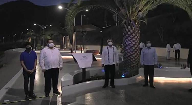 Entrega el Gobernador tercera etapa del Malecón de La Paz
