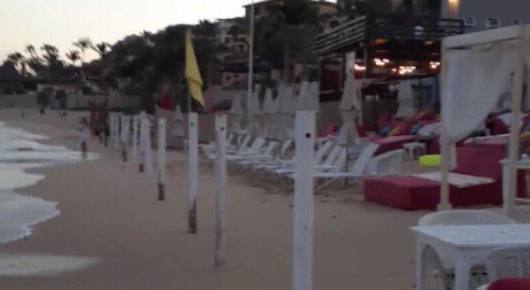 """Convertidas en unos """"corrales"""" las playas del Médano"""