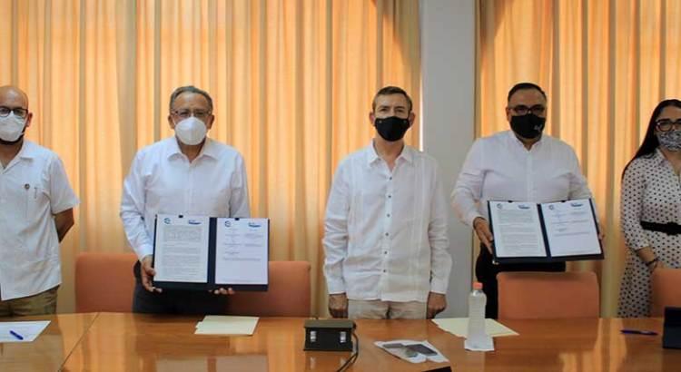 Firman convenio UABCS y Academia Mexicana de Derecho
