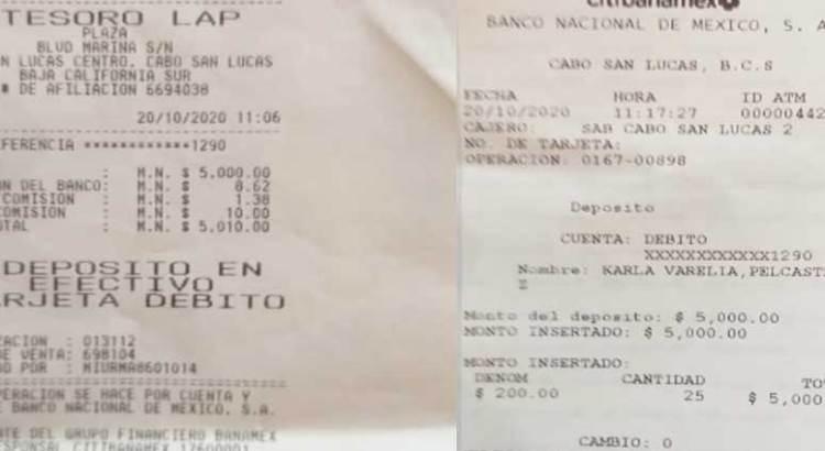 Peninsular Digital ya hizo su aporte a la cuenta de Armando Covarrubias