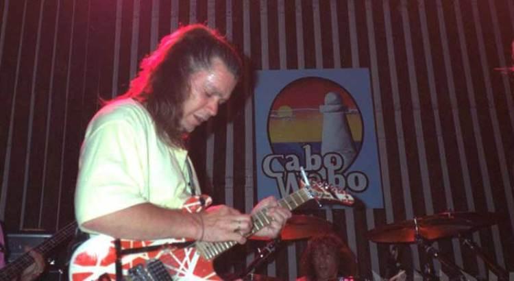 Descanse en paz Eddie Van Halen