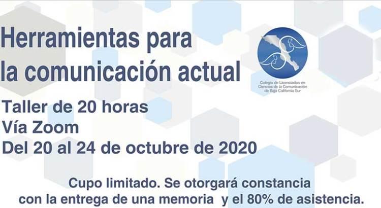 Iniciará taller el Colegio de Comunicólogos