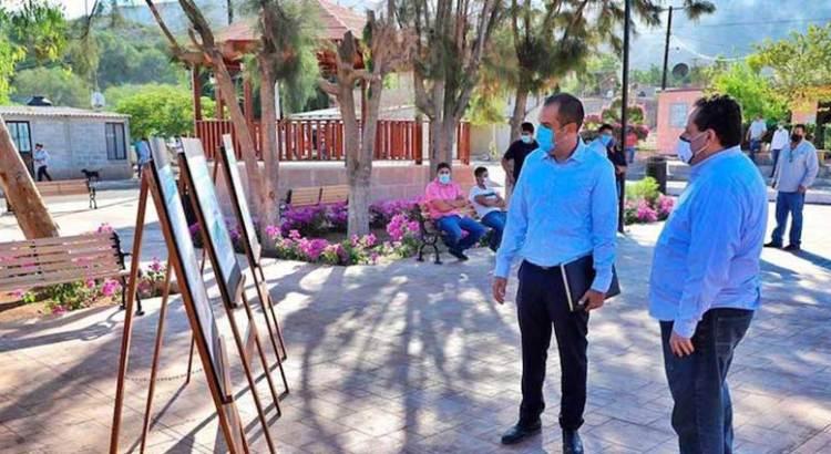 Entrega Gobernador espacios públicos en La Purísima y San Isidro
