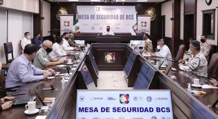 Coadyuvará Mesa de Seguridad con Comité Estatal de Seguridad en Salud