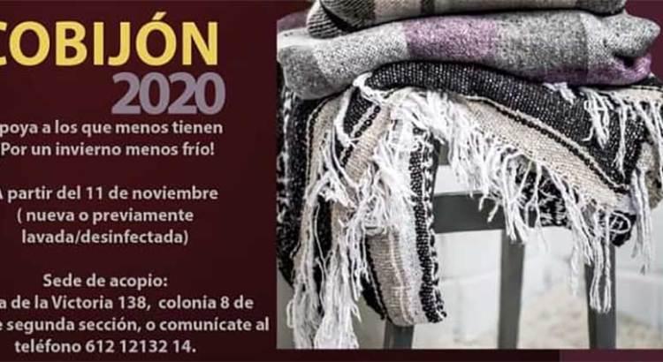 """Participa en la colecta """"Cobijón 2020"""""""