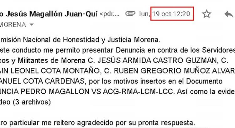 Denuncian a Armida Castro, Leonel y Manuel Cota y Rubén Muñoz