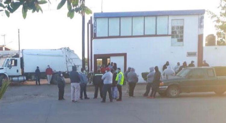 Se van a paro trabajadores de Servicios Públicos en Comondú
