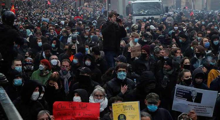 Tercera semana de protestas en Francia