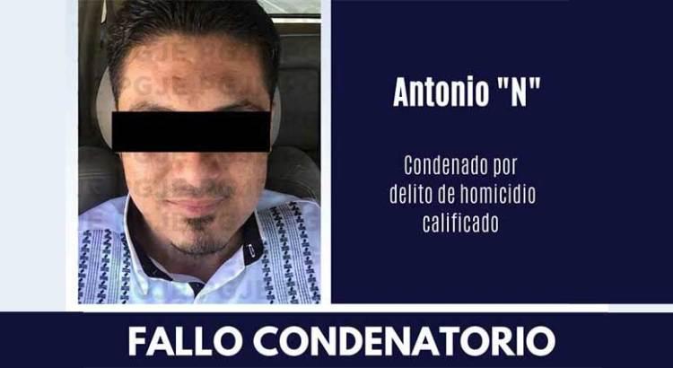 """Dan sentencia condenatoria a Antonio """"N"""""""