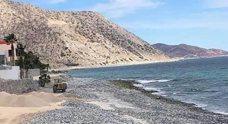 Denuncian presunto delito ambiental en Los Barriles