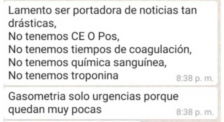 Denuncian desabasto en el Hospital General de Cabo San Lucas