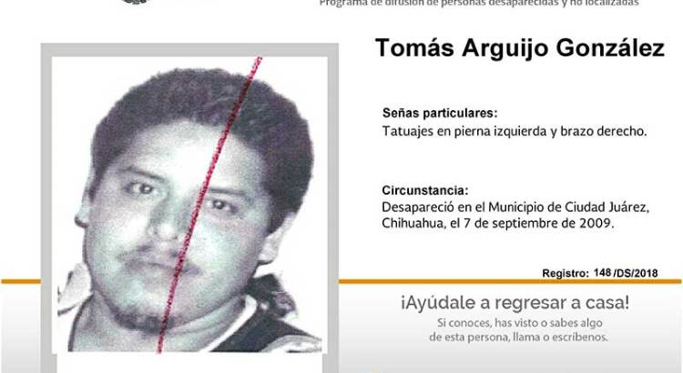 ¿Has visto a Tomás Arguijo González?