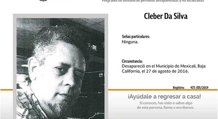¿Has visto a Cleber Da Silva?