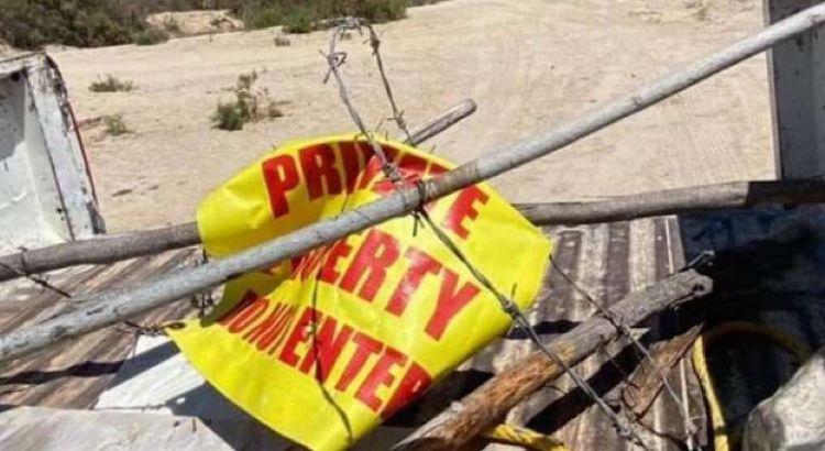 Liberan activistas accesos a 18 playas cabeñas