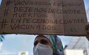 Protestan Médicos y enfermeras de Venezuela