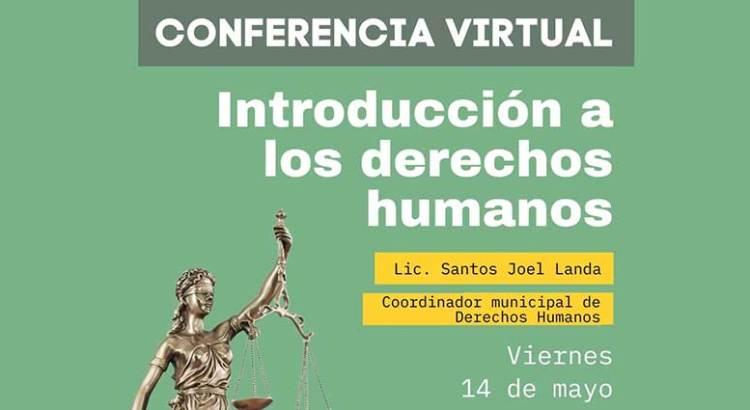 """Invitan a conferencia """"Introducción a Derechos Humanos"""""""