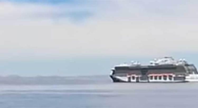 Comienzan cruceros a abandonar la bahía de La Paz