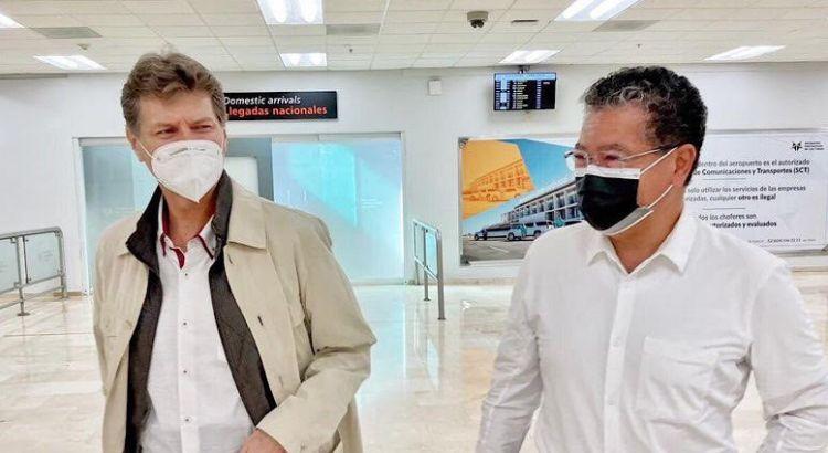 Arribó a Los Cabos el ex secretario de Turismo Federal