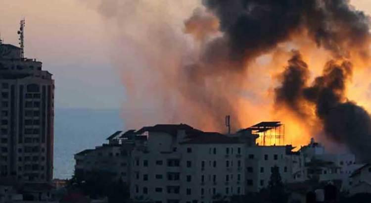 Ahora Israel bombardea Gaza