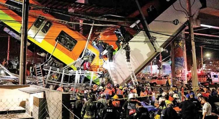 23 fallecidos, saldo preliminar del desplome del Metro