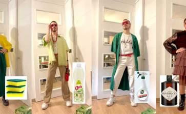 Diseña ropa basada en comida, bebida y productos de limpieza