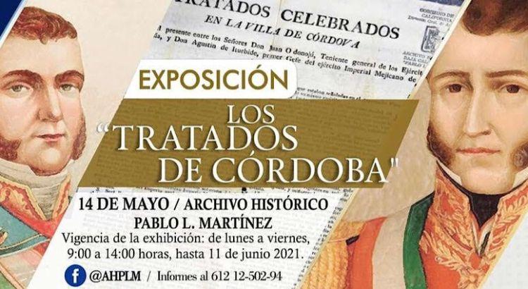 """Invita el AHPLM a  la Exposición """"Los Tratados de Córdoba"""""""