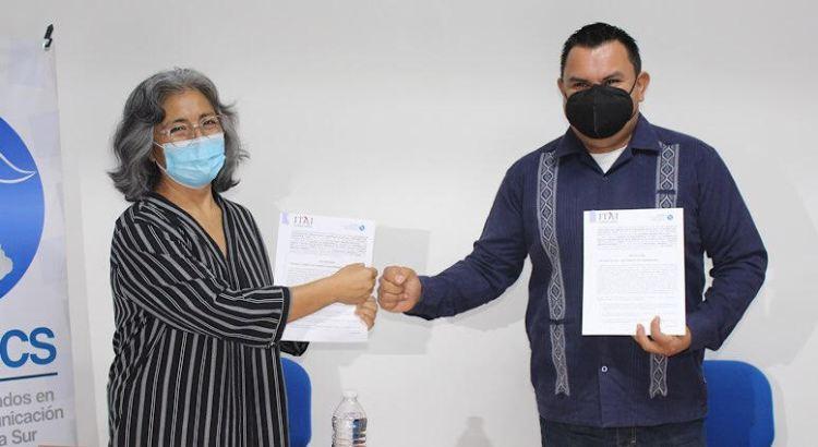 Firman convenio de colaboración el CLCCBCS y el ITAI BCS