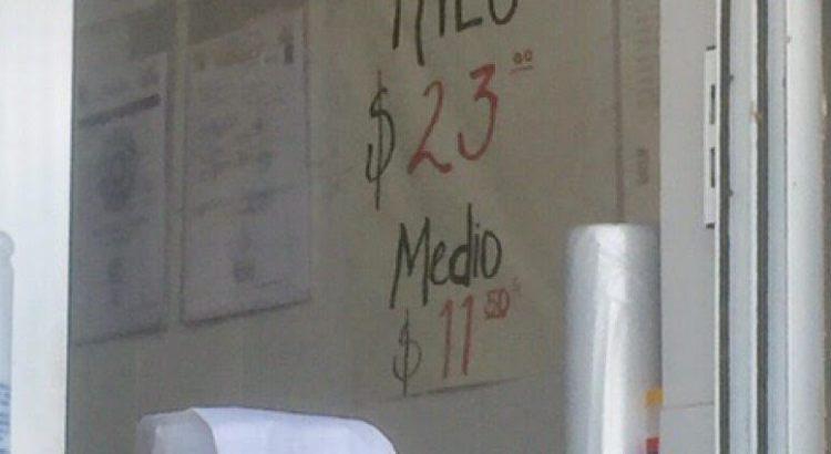 En Los Cabos, hasta en 23 pesos el kilo de tortilla