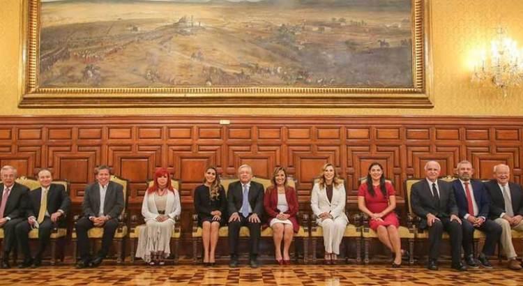 Se reunió el Presidente López Obrador con gobernadores electos de Morena