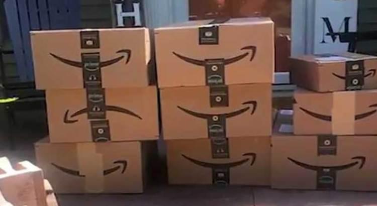 Recibió de Amazon más de 150 paquetes que no pidió