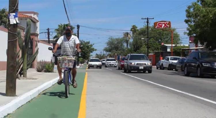 Lleva un 50% de avance la ciclovía paceña