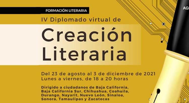 Convocan al IV Diplomado virtual de Creación Literaria