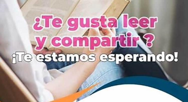 ¿Te gusta leer y compartir?