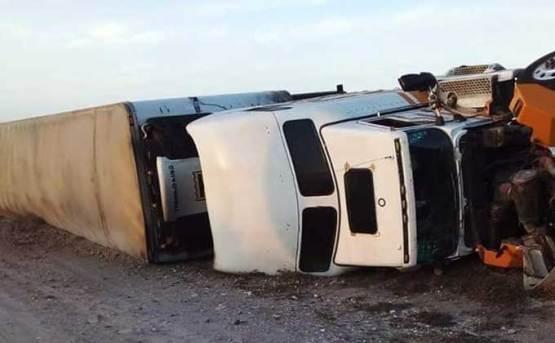Fatal carreterazo cerca de Vizcaíno