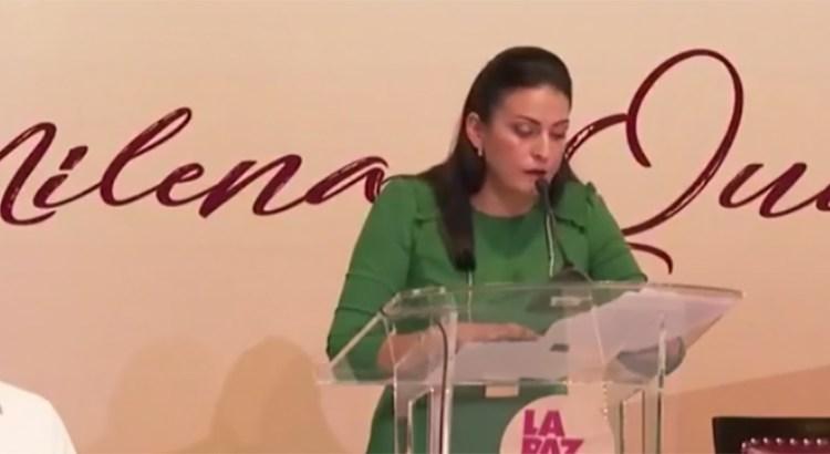 Ofrece Milena Quiroga auditoría externa
