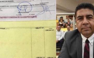 Más de un millón 600 mil  pesos para Pillado Ortega