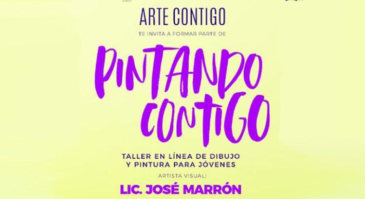 """Intégrate al Taller «Pintando Contigo"""""""