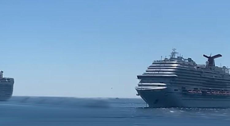 Recibe CSL doble arribo de cruceros