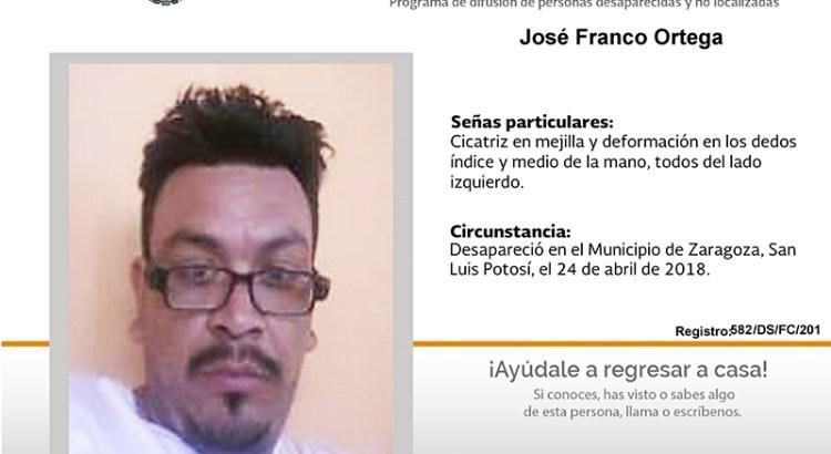 ¿Has visto a José Franco Ortega?