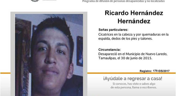 ¿Has visto a Ricardo Hernández Hernández?
