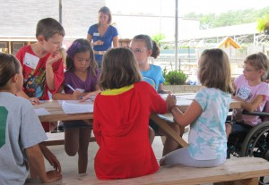 Humane Education Class w/ United Methodist Church group