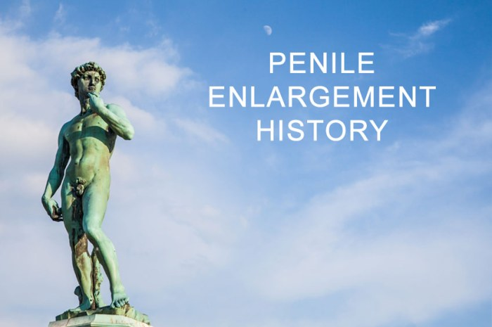 penile enlargement history