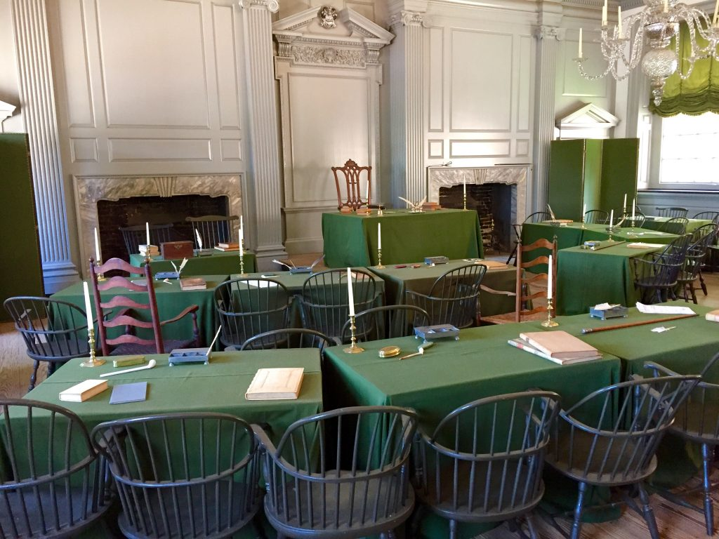 Declaration Of Independence Signing Room Independence Hall