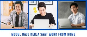 model baju work from home