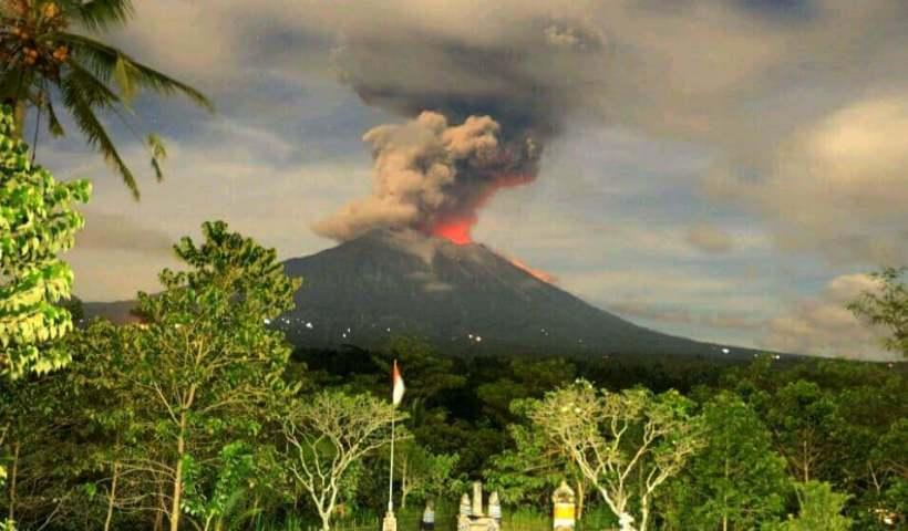 Erupsi Gunung Agung, Bali - Mei 2019