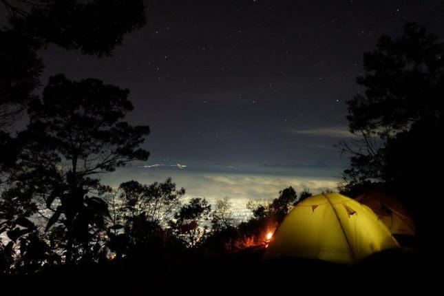 Pemandangan dari puncak Gunung Panderman