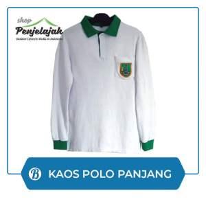 Kaos Polo Shirt - Lengan Panjang