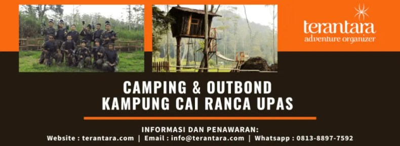 Camping dan Outbound di Ranca Upas - Terantara Adventure Organizer